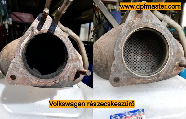 volkswagen részecskeszűrő tisztítás